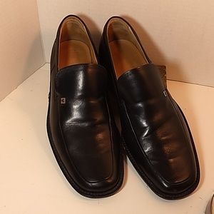 Bally Black Leather Loafers